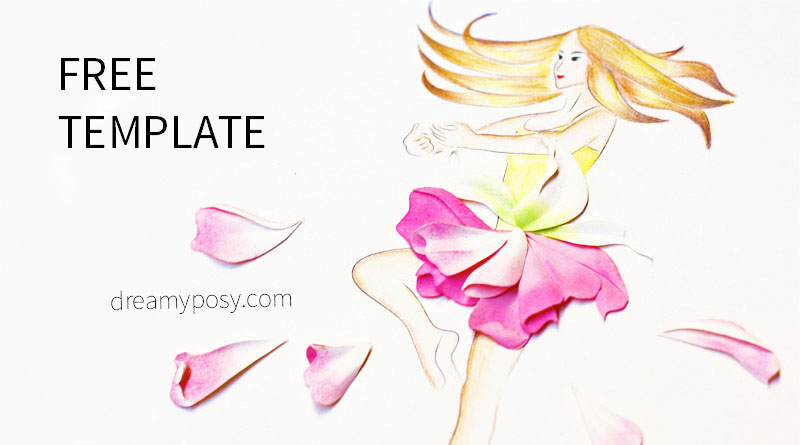 How to make 3d flower picture as a gift free templates mightylinksfo