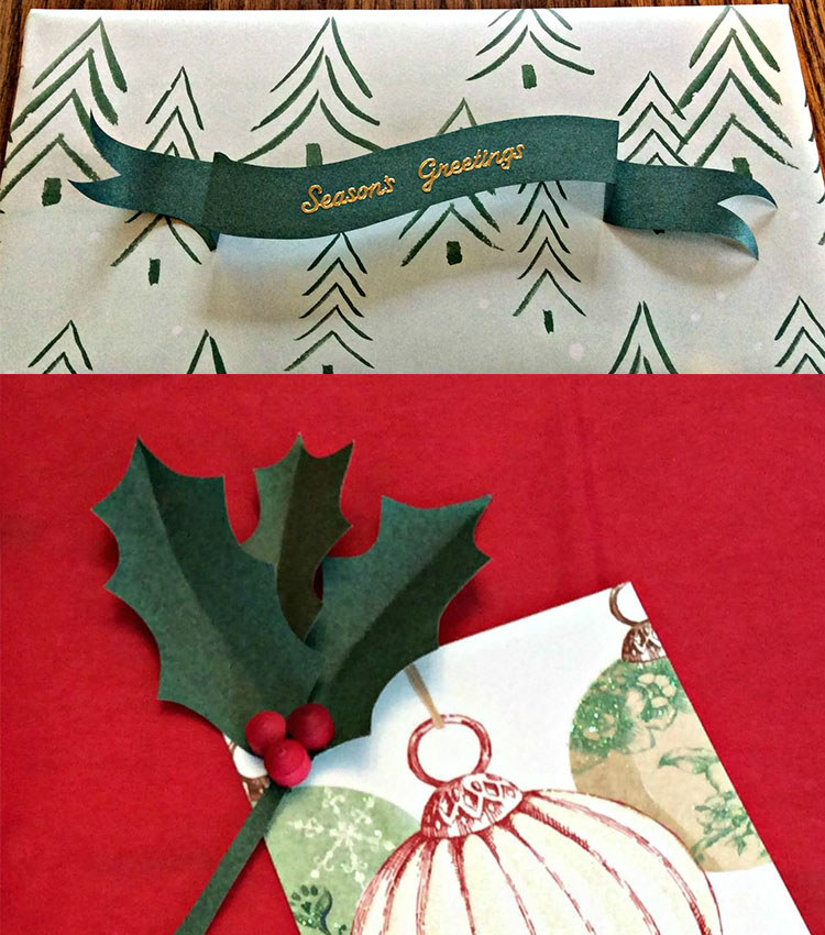 Gift toppers free template