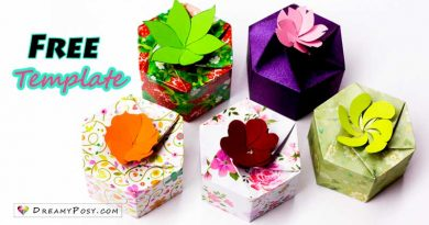 personalized gift boxes, free template, gift box, diy gift box
