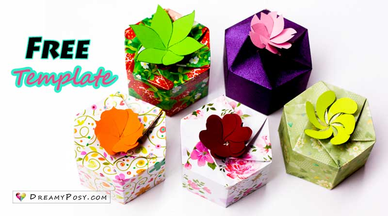 How to make personalized gift boxes, free template