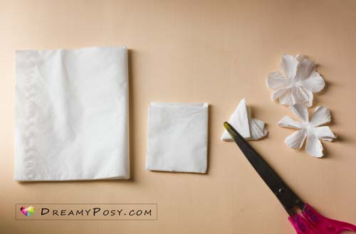 Paper cherry blossom free tutorial and template, #paperflower, #flowertutorial, #freepattern