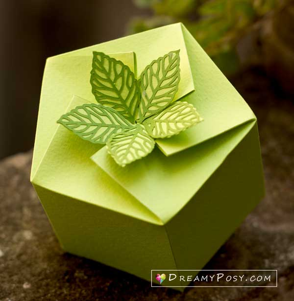 Paper box templates and tutorial