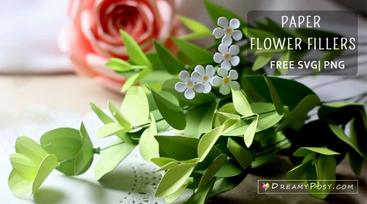 How to make paper flower fillers