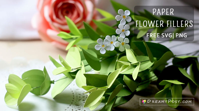 paper flower fillers