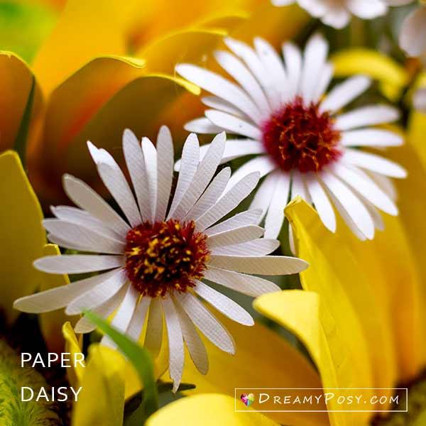 Paper Daisy tutorial