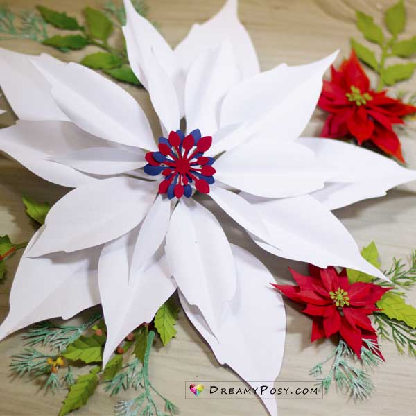 Paper Large Poinsettia